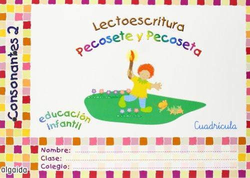 9788484330295: Lecto-escritura 2, consonantes, Educación Infantil. Cuadrícula