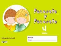 9788484337744: Pecosete y Pecoseta 4 años