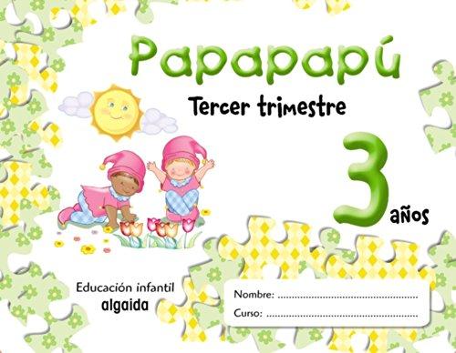 9788484339526: Papapapú 3 años. 3º Trimestre