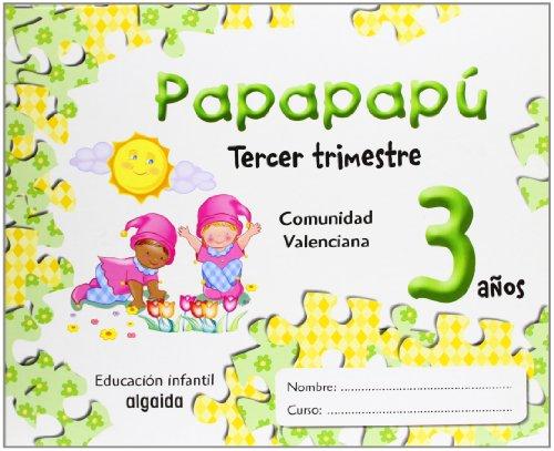 9788484339571: Papapapú 3 años. 3º Trimestre