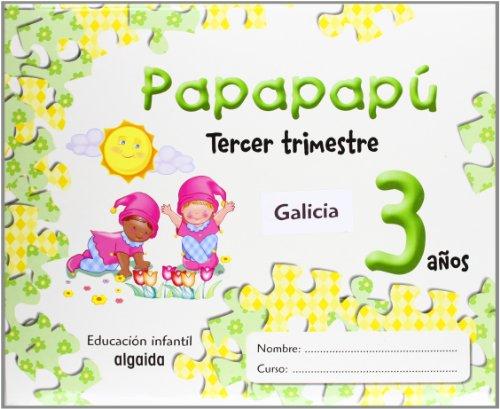 9788484339724: Papapapú 3 años. 3º Trimestre