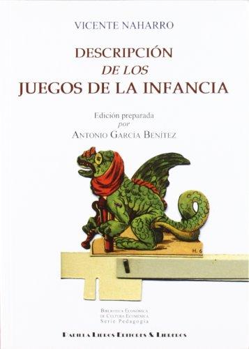 9788484345244: Descripcion de Los Juegos de la Infancia.(Col.Biblioteca Econ. Cultura Ecumenicaserie Pedagogia)