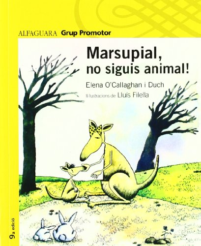 9788484353836: MARSUPIAL NO SIGUIS ANIMAL - GRP. PROMOR
