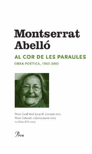9788484373322: Al cor de les paraules: Obra poètica 1963-2002 (OMN SG)