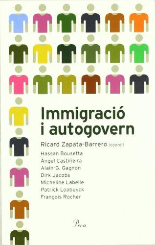 9788484379324: Immigració i autogovern (DEBAT)