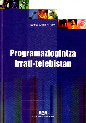 9788484380559: Programaziogintza Irrati-Telebistan