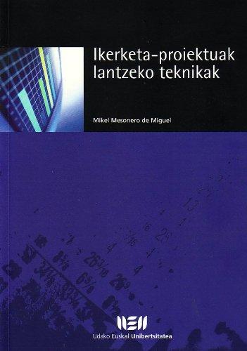 9788484380672: Ikerketa-Proiektuak Lantzeko Teknikak
