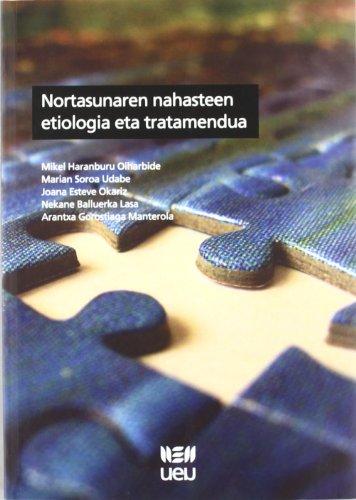 9788484383482: Nortasunaren Nahasteen Etiologia Eta Tratamendua (U.E.U.)
