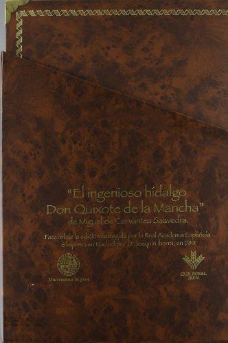9788484392453: El ingenioso hidalgo Don Quijote de la Mancha (4 tomos) (Fuera de Colección)
