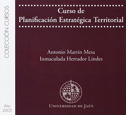 9788484392675: Curso de planificación estratégica territorial (CD Cursos)