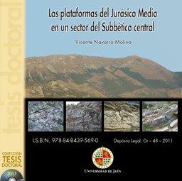 9788484395690: Las plataformas del Jurásico Medio en un sector del Subbético central (CD Tesis)