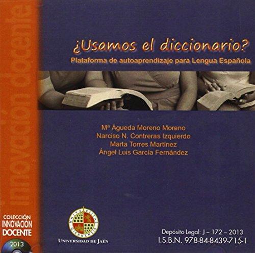 9788484397151: ¿Usamos el diccionario?: Plataforma de autoaprendizaje para lengua Española (Cd Innovación docente)