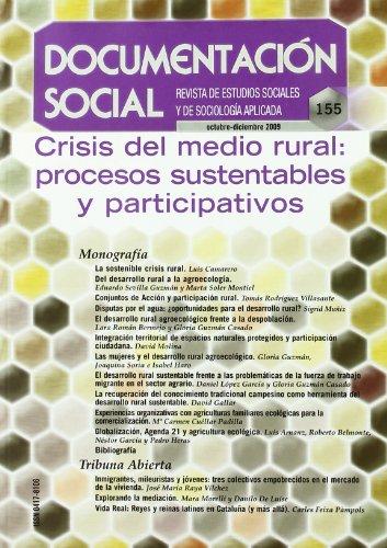 9788484404453: Crisis del medio rural
