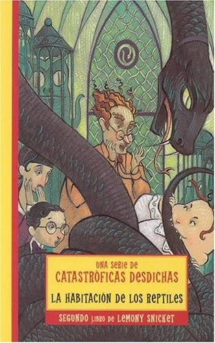 9788484412175: Habitacion de los reptiles, la (Series Of Unfortunate Events)