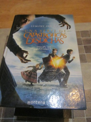 9788484412427: Una serie de catastroficas desdichas / A Series of Unfortunate Events: Un Mal Principio / the Bad Beginning, La Habitacion De Los Reptiles / the ... Ventanal / the Wide Window (Spanish Edition)