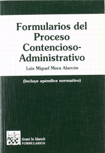 9788484420521: FORMULARIOS DEL PROCESO CONTENCIOSO-ADMINISTRATIVO
