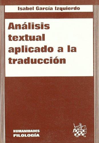 9788484420538: Analisis Textual Aplicado A La Traduccion