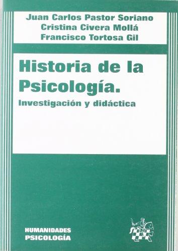 9788484421290: Historia de la psicología. Investigación y didáctica