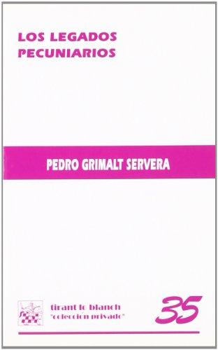 Los legados pecuniarios - Pedro Grimalt Servera?