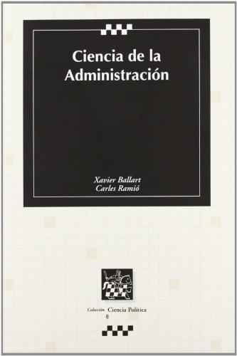 9788484421962: Ciencia de la administración