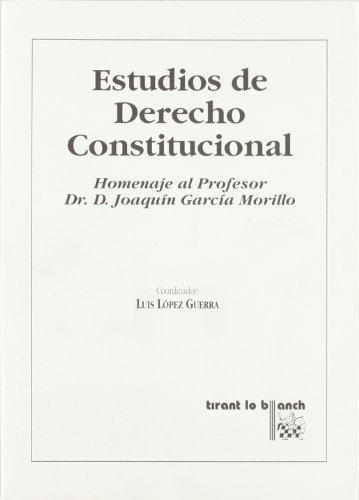9788484423607: Estudios de derecho constitucional