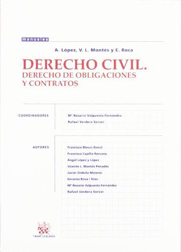 9788484423942: Derecho Civil. Derecho de Obligaciones y Contratos
