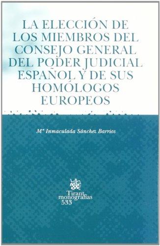 La elección de los miembros del Consejo: Sánchez Barrios, María