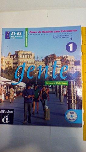 Gente 1, libro del alumno + CD: Neus Sans Baulenas,