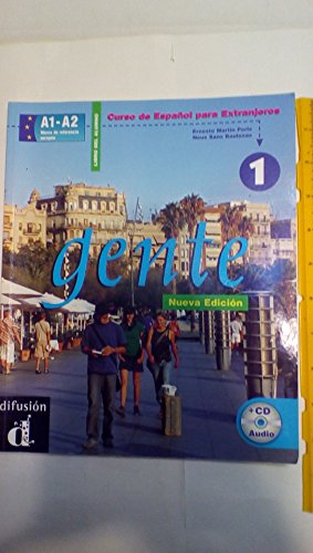 9788484431381: Gente 1, libro del alumno + CD (Nueva Edicion) (Spanish Edition)