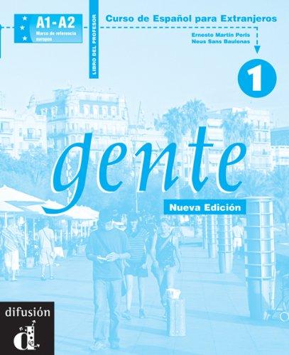 Gente 1, libro del profesor (Spanish Edition): Neus Sans Baulenas,