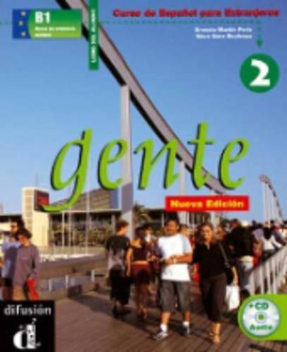 Gente 2, libro del alumno + CD: Ernesto Martin Peris;