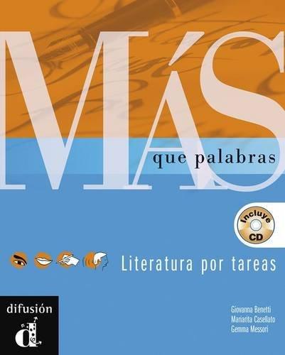 9788484431565: Más que palabras. Libro del alumno + CD (Ele - Texto Español)