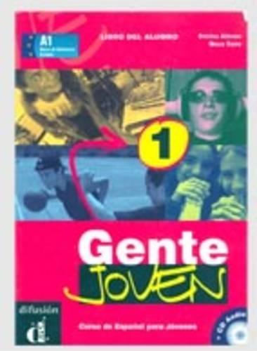 9788484431572: Gente Joven 1 Libro del alumno + CD (Ele - Texto Español)