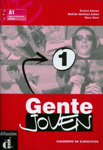 9788484431589: Gente Joven: Cuaderno De Ejercicios 1