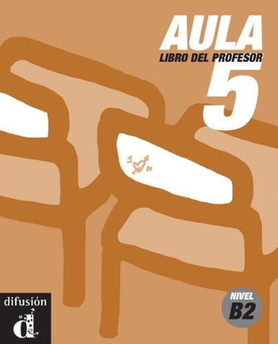 9788484431923: Aula 5. Libro del profesor (Ele - Texto Español)