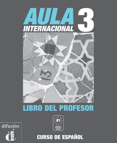 9788484432333: Aula Internacional: Libro del profesor 3