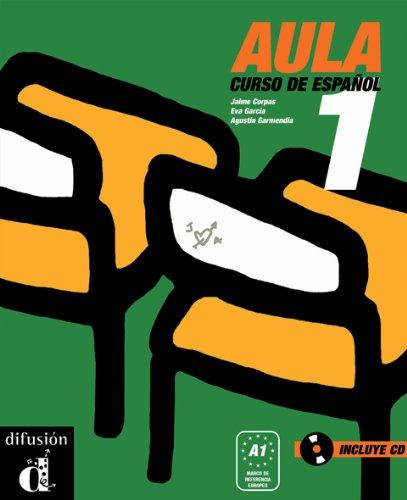 9788484432548: Aula 1. Libro del alumno+CD (Spanish Edition)