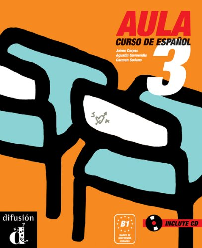 9788484432562: Aula internacional 3 Curso de espanol (1CD audio)