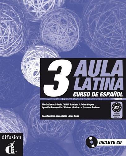 9788484432654: Aula latina 3. Libro del alumno + CD (Ele - Texto Español)