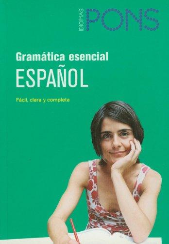 Gramática esencial Español (Pons - Gramatica Esencial): editorial
