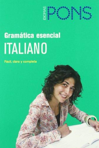 9788484432791: Gramática esencial Italiano (Pons - Gramatica Esencial)