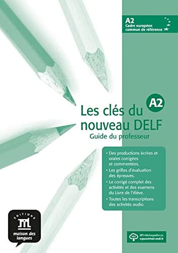 9788484433552: Les cles du nouveau DELF A2 Profesor + CD (French Edition)