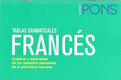 9788484433828: Tablas gramaticales Francés. Nueva edición