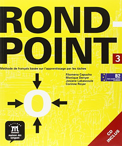 9788484433897: Rond Point 3, Livre de l'eleve + CD (French Edition)