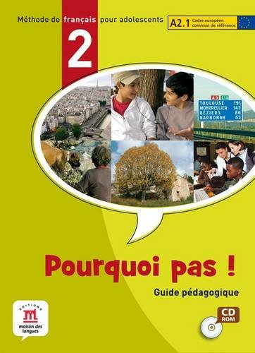 9788484434139: Pourquoi pas! 2 - Libro del profesor CD-ROM (Fle- Texto Frances) - 9788484434139