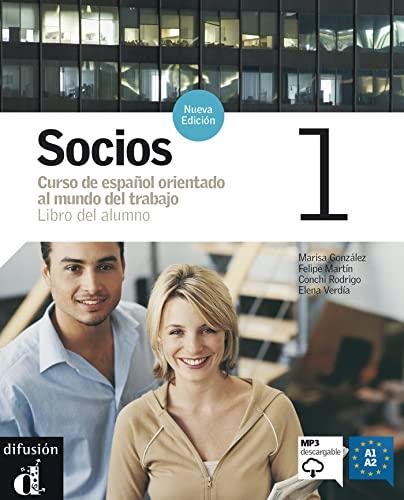 9788484434153: Socios 1, libro del alumno +CD (Spanish Edition)