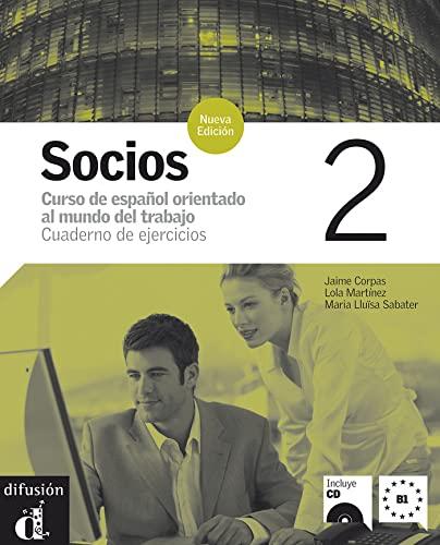 9788484434191: Socios. Cuaderno de ejercicios. Per gli Ist. professionali per i servizi commerciali. Con CD Audio: Socios 2. Cuaderno de ejercicios (Ele - Texto Español)
