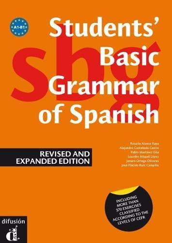 9788484434375: Gramática básica del estudiante de español, versión inglés (Ele - Texto Español)