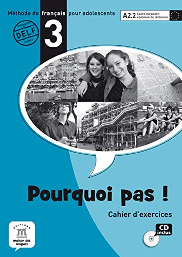 9788484435341: Pourquoi Pas!: Cahier D'Exercises & CD 3 (French Edition)