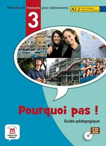 9788484435358: Pourquoi pas! 3 - Libro del profesor CD-ROM (Fle- Texto Frances) - 9788484435358